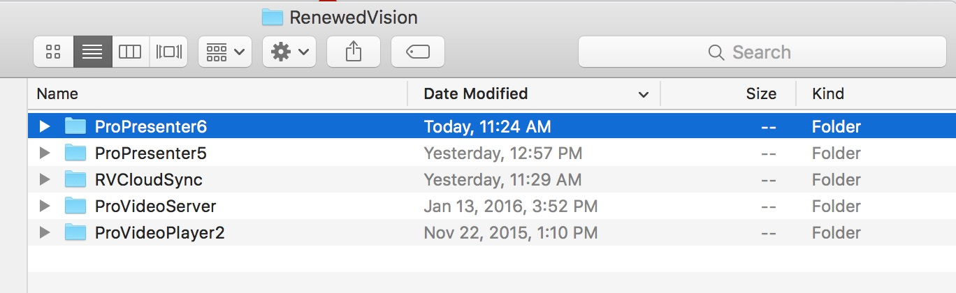 How do I uninstall ProPresenter 6 from my Mac? – Renewed Vision