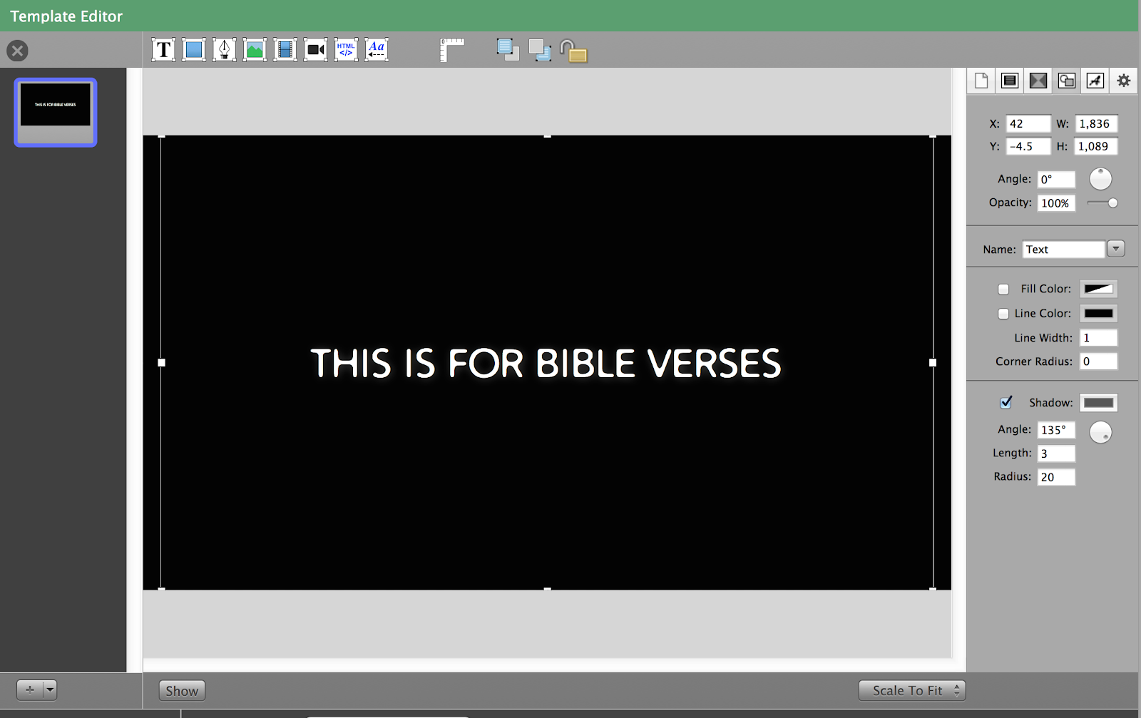 Using Bibles in ProPresenter 6 – Renewed Vision