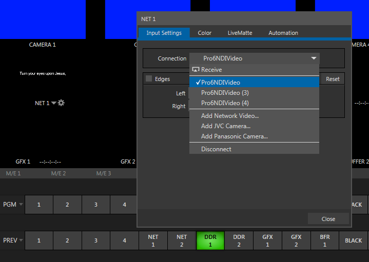 Video Output Is Currently Active Obs Ndi