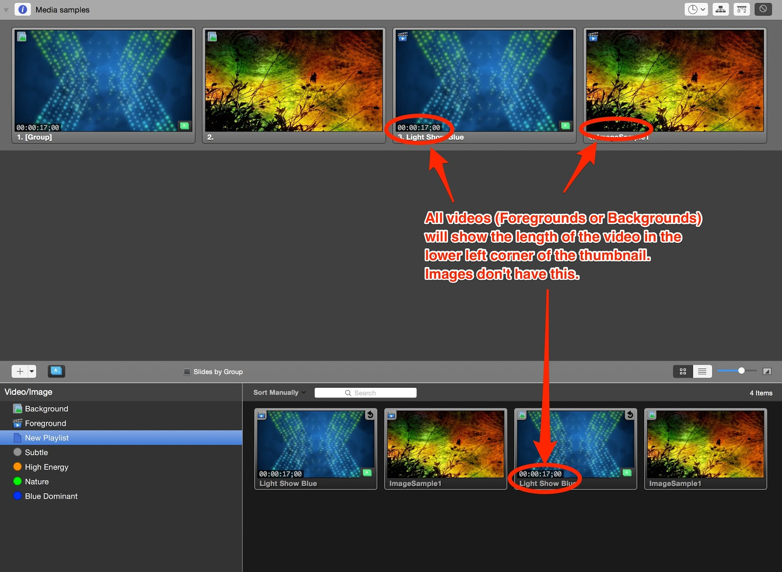 How can I tell if a media cue is a video or still image? – Renewed