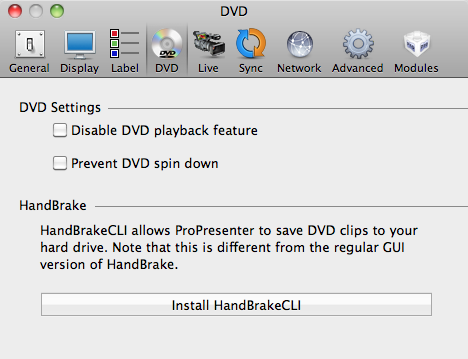 How do I rip DVD clips with ProPresenter 5? – Renewed Vision